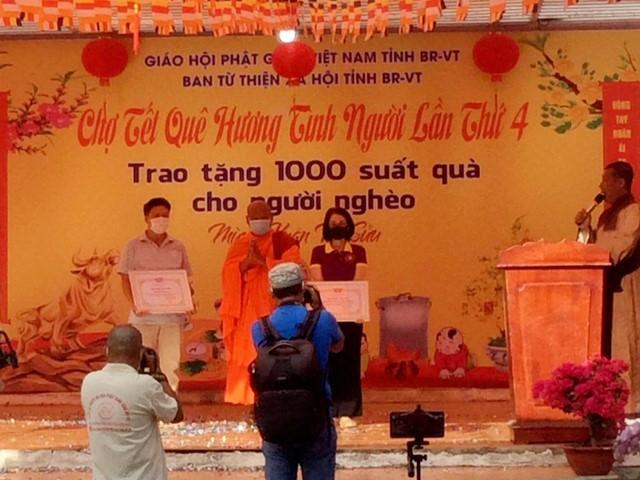 Phiên chợ 0 đồng lần thứ IV do Ban Từ thiện - Xã hội Phật giáo tỉnh cùng chính quyền Tp. Vũng Tàu tổ chức